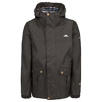 Trespass Boys Barrett Waterproof Breathable Polyester Lined Jacket