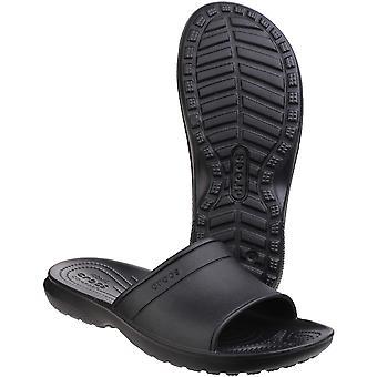 Crocs Mens Classic Lightweight Simple Versatile Slide Sandals Clogs