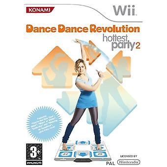 Dance Dance Revolution Hottest Party 2 - jeu seul (Wii)