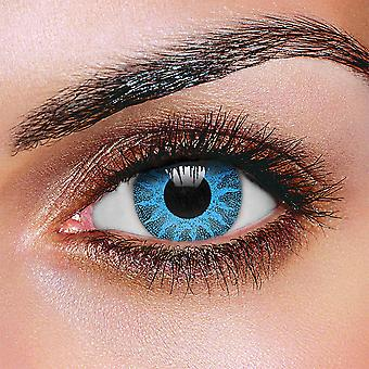Solar Blue Colored Contact Lenses (Pair)