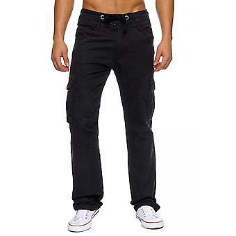 Mens long cargo pants cargo work pants summer Bermuda pants bags men