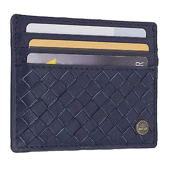 Porta carte di credito di uomo Timberland, biglietto da visita titolare carta 7100 Navy/Blue