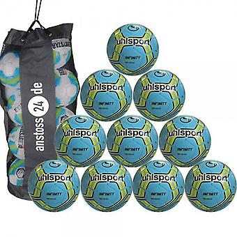 10 x Uhlsport youth ball - INFINITY 350 LITE 2017 incl. Ball bag