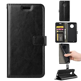 Pocket wallet premium black for Motorola Moto G6 protection sleeve case cover pouch new accessories