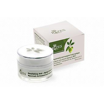 Nourishing anti-aging cream for all skin types 50+