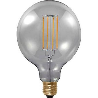 Segula LED E27 Globe 6 W = 25 W Grey (Ø x L) 125 mm x 180 mm EEC: A dimmable, Filament 1 pc(s)