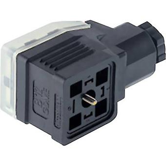 Hirschmann 933 029-100 GDME 2011 Contact Box, Supports Electronic Inserts. Black Number of pins:2 + PE