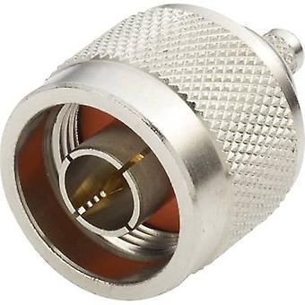 N connector Plug, straight 50 Ω Amphenol N1121A1-NT3G-1-50