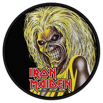 Iron Maiden Killers hodet rundt sy på klut Patch