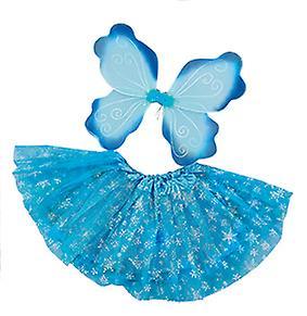 Halloween Ijs.Ice Crystal Vleugels Instellen 2 Pc S Ijs Fairy Childs Kostuum Halloween Carnaval