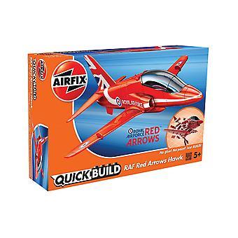 Airfix Quick bouwen rode pijlen Model Kit