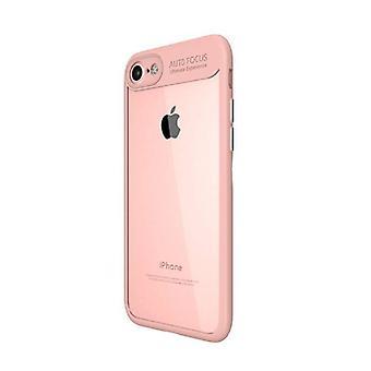 Stuff Certified® iPhone 6 Plus -Auto fokus rustning fall täcka Cas silikon TPU fallet rosa