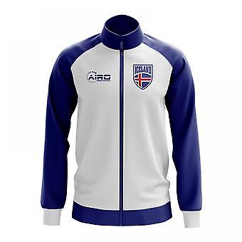 Iceland Concept Football Track Jacket (White)