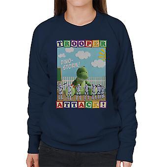 Original Stormtrooper Dino Storm Trooper Attack Women's Sweatshirt