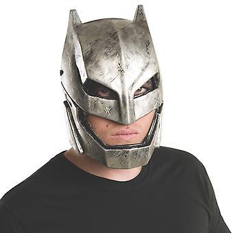 Gepanzerte Batman V Superman Dawn of Justice Superheld Herren Kostüm 1/2 PVC Maske