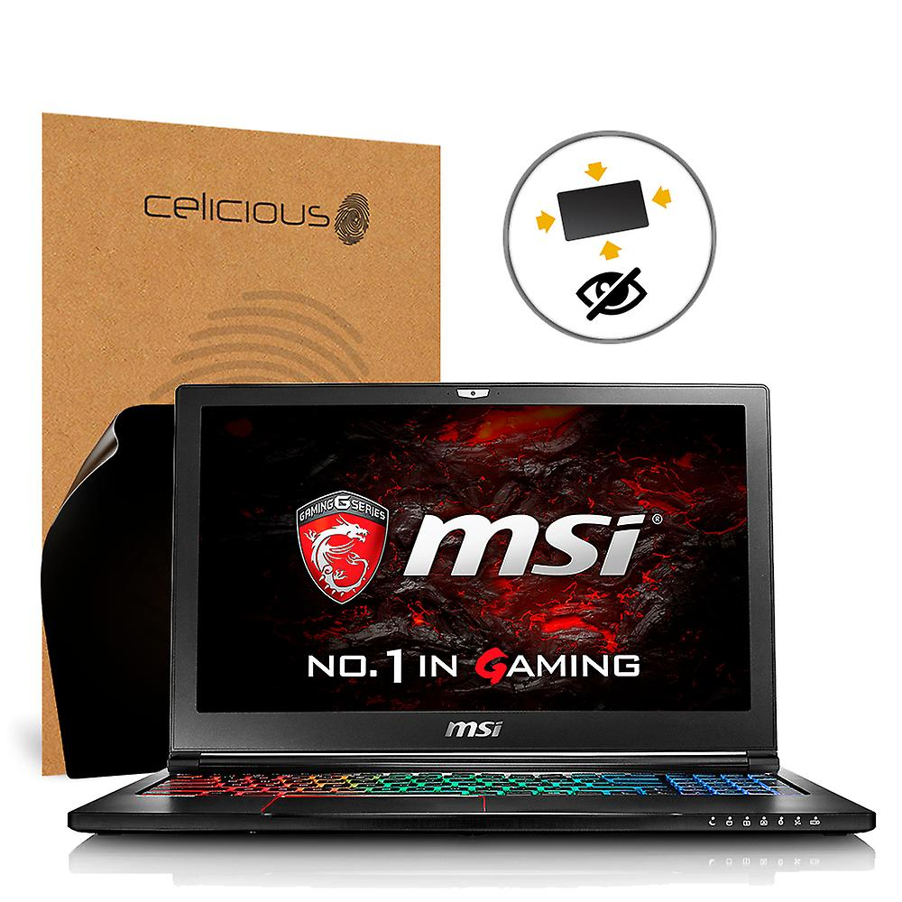 Celicious Privacy Plus 4-Way Anti-Spy Filter Screen Prougeector Film Compatible with MSI GS63 7RE Stealth Pro