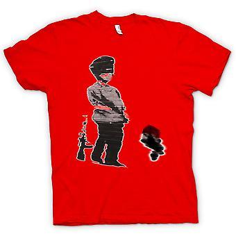 Kids T-shirt - Banksy Graffiti Art - Soldier
