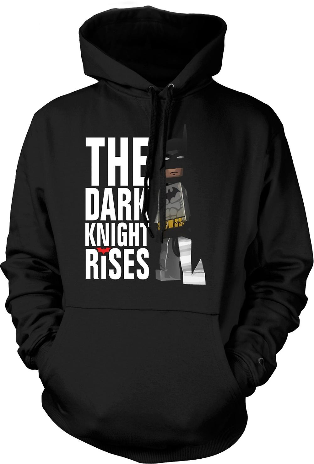 Mens Hoodie - Batman Lego Super Hero - Dark Knight Rises