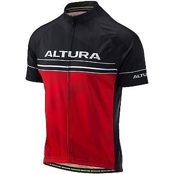 Altura Red-Black 2018 Team Short Sleeved Cycling Jersey