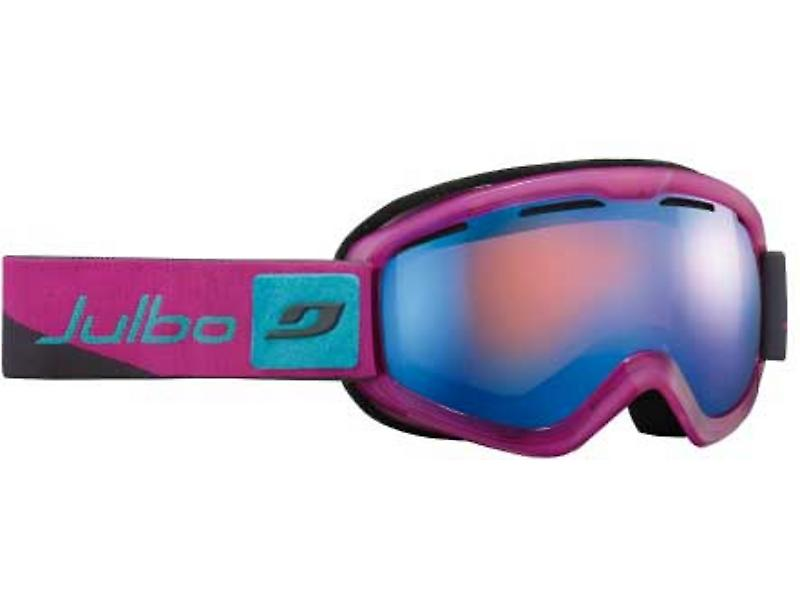 Julbo Vega DLX Goggles (Orange Blue Flash Lens Grey / Pink / Blue Frame)