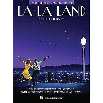La La Land - Piano Duetto: Keskitaso / 1 Piano, 4 kättä