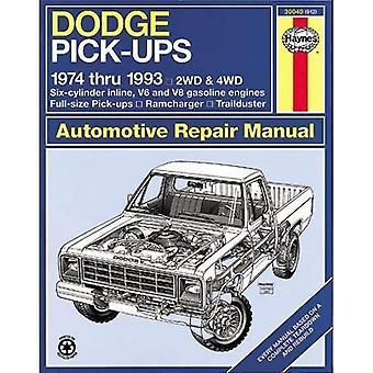 Dodge Pick-ups (74-93) Automotive Reparationsmanual