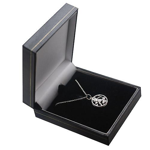 Silver 11mm pierced Virgo Zodiac Pendant with a rolo Chain 14 inches Only Suitable for Children