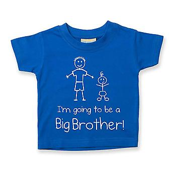 I'm Going To Be a Big Brother Blue Tshirt