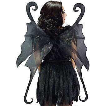 Wings Fairy Large Black