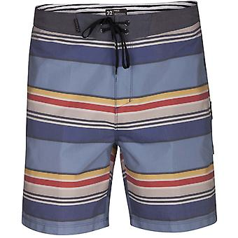 Hurley Pendleton Yosemite Beachside 18 inch Mid Length Boardshorts