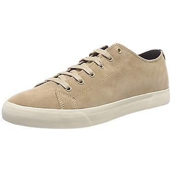 Tommy Hilfiger shoes elegant genuine leather casual shoes Brown