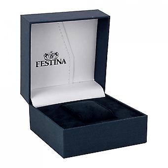 Gusset Festina F4075 2 - Pocket steel color silver man