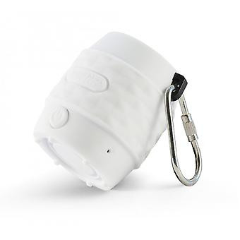 MusicMan BT-X11 Waterproof NANO Bluetooth Soundstation - White