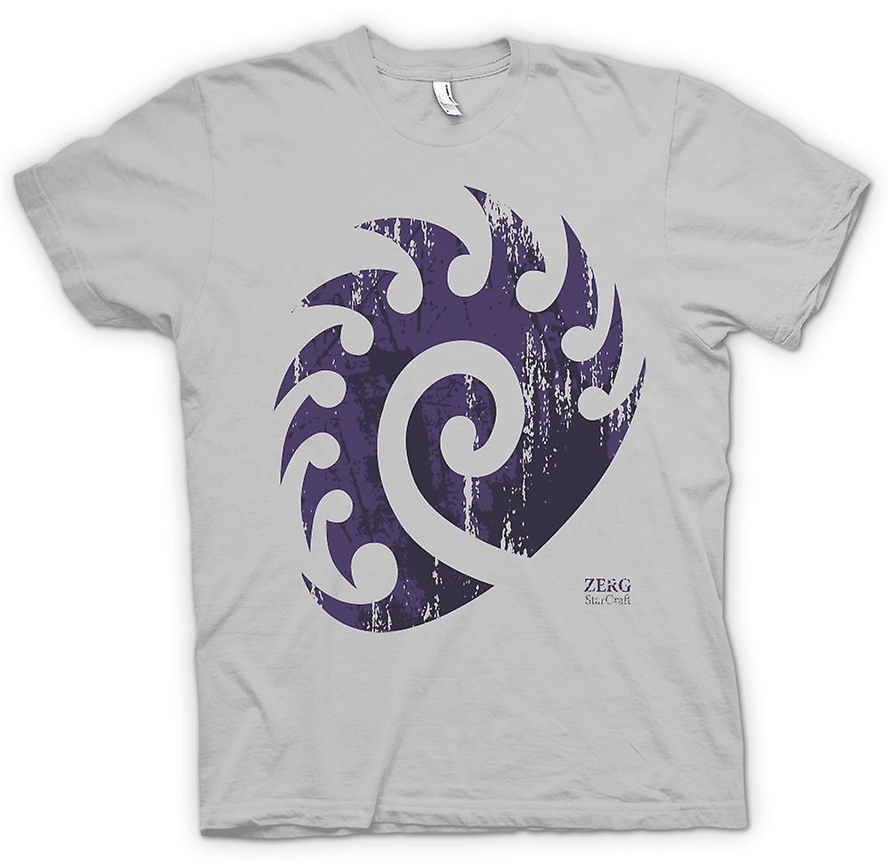 Mens t-shirt - Star Craft ispirati - Zerg