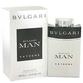 Bvlgari man Extreme av Bvlgari Eau de Toilette spray 3,4 oz (menn) V728-501033
