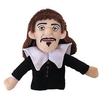 Finger Puppet - UPG - Descartes Soft Doll Toys Gifts Licensed New 3741