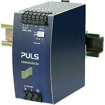 PULS DIMENSION QS10.241 Rail mounted PSU (DIN) 24 Vdc 10 A 240 W 1 x