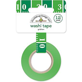 Doodlebug Washi Tape 15 mm X 12 yd-Touchdown Rost TCH4797
