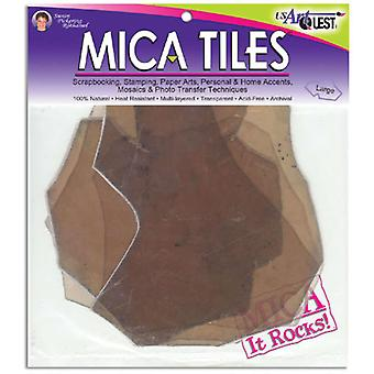 Mica Tile Large Pieces 2 Ounces Approximately 6