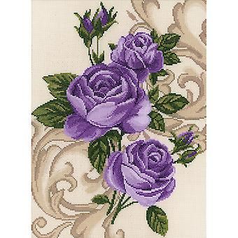Roses Counted Cross Stitch Kit 10 5 8