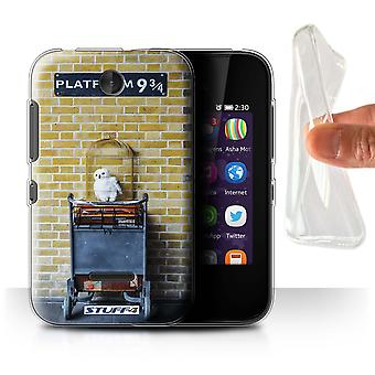 STUFF4 Gel/TPU Case/Cover for Nokia Asha 230/Platform 9 3 Qrts/London Sites