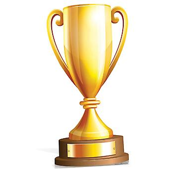 Kæmpe størrelse Champions Trophy pap påklædningsdukke / Standee / står