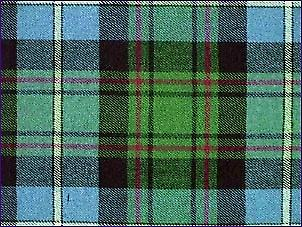 MacRae Hunting, Ancient - Pure Wool Tartan