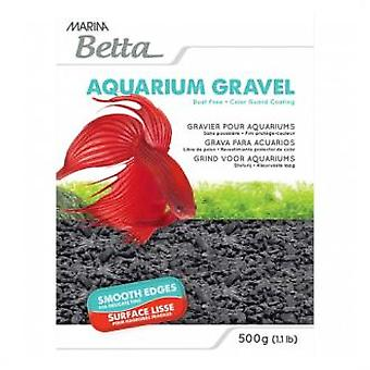 Marina Grava Marina Betta Black 500G (Fish , Decoration , Backgrounds)