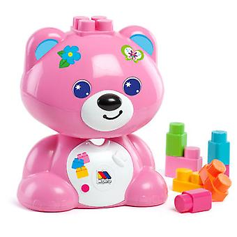 Molto Teddy + 15 Blocks (Rosa) (Toys , Preschool , Constructions)