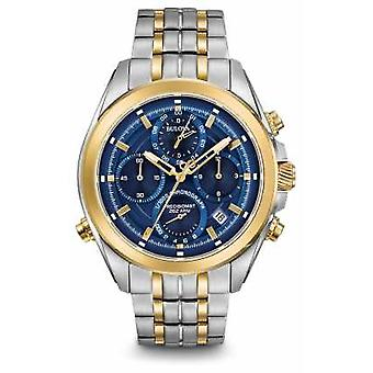 Bulova Mens Precisionist Chronograph Two Tone 98B276 Watch