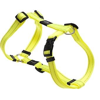 ROGZ FOR DOGS SNAKE TUIG GEEL 16 MMX32-52 CM