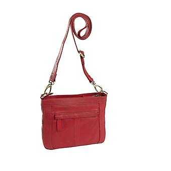Dr Amsterdam shoulder bag Basil Red