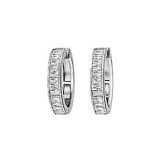 ESPRIT collection ladies earrings Creole silver Pallas ELCO90781A000