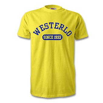 Westerlo 1933 Established Football T-Shirt